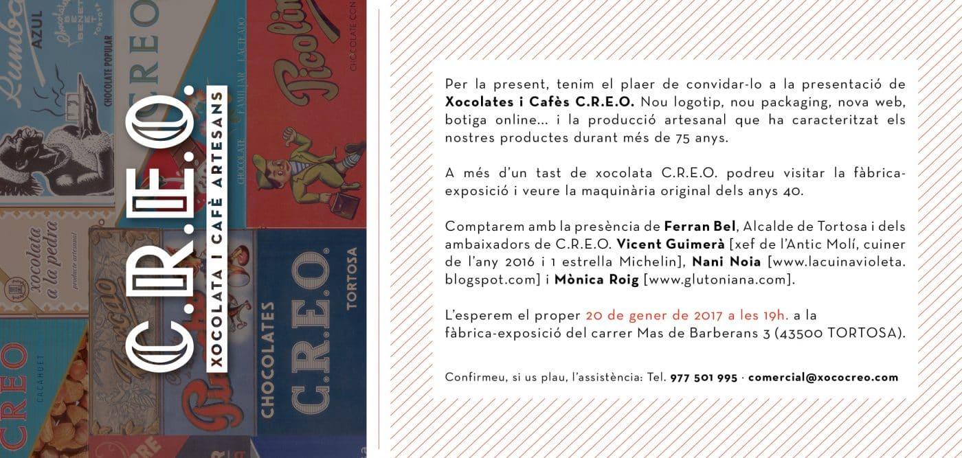 Invitacio CREO
