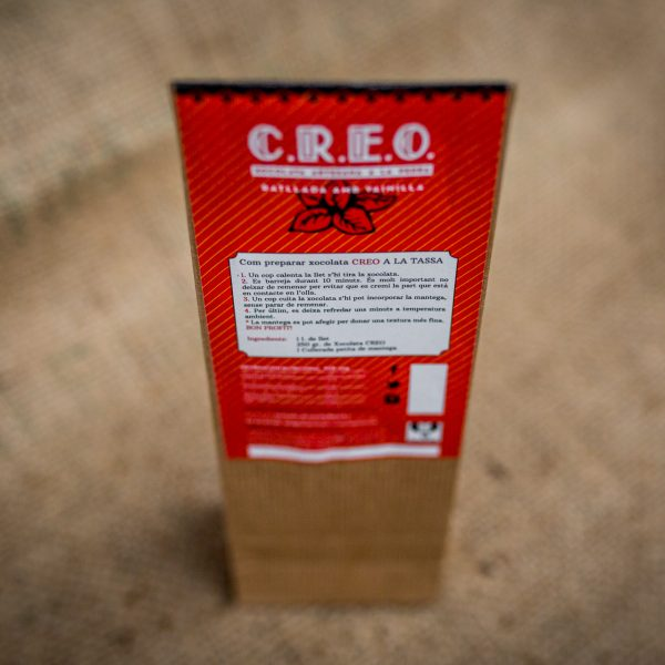 CREO xocolata rallada a la vainilla